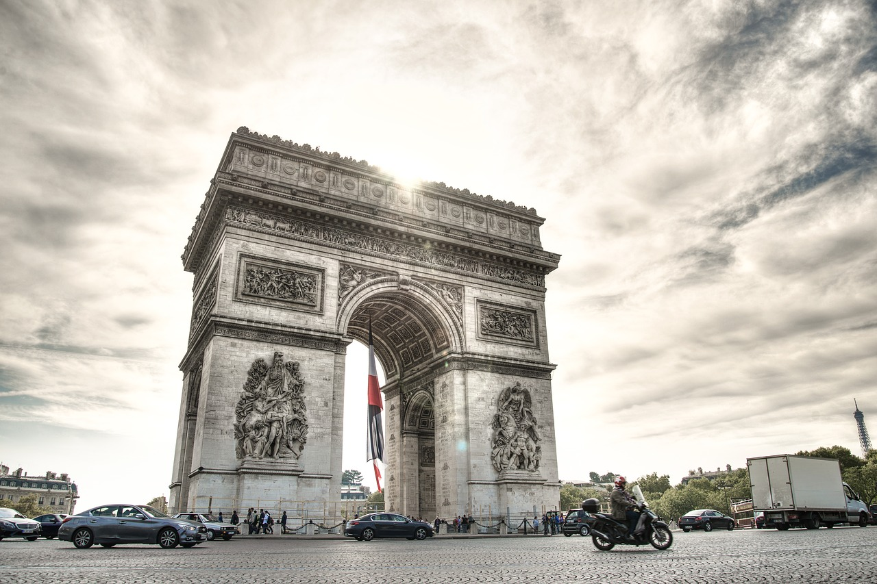 l'arc triomphe Paris