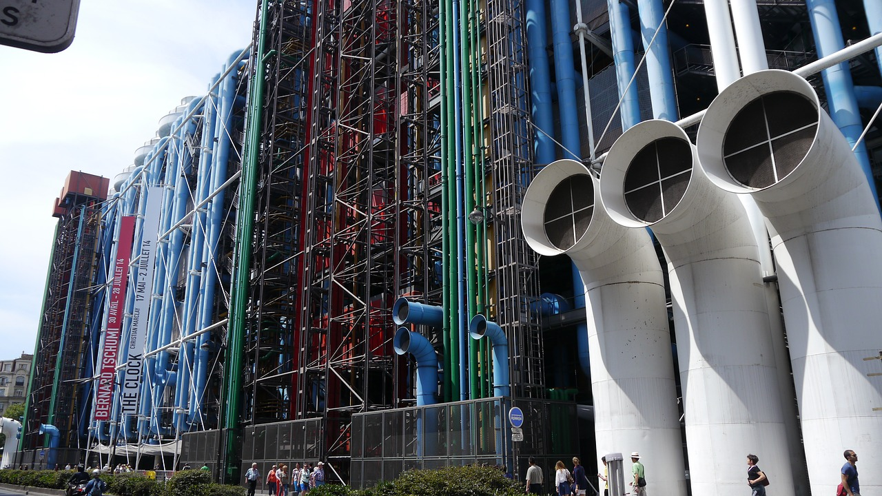 Centre Georges Pompidou  Beaubourg