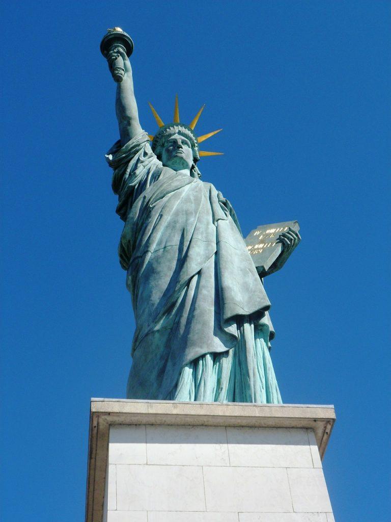 巴黎的自由女神像
