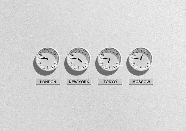 fuseau horaire de Paris