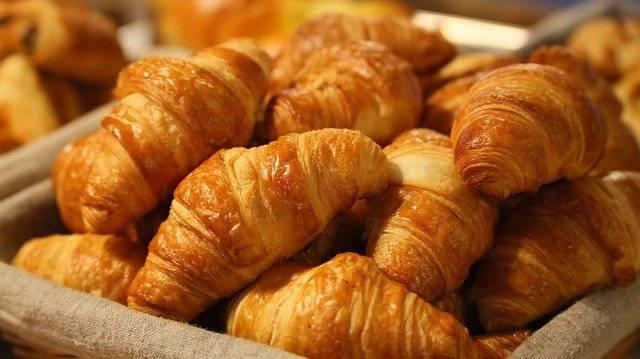 croissant Französisches Gebäck