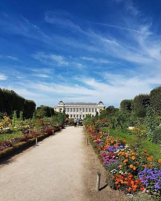 Garten der Pflanzen Paris