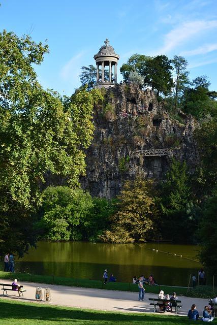 Parc des Buttes Chaumont Paris