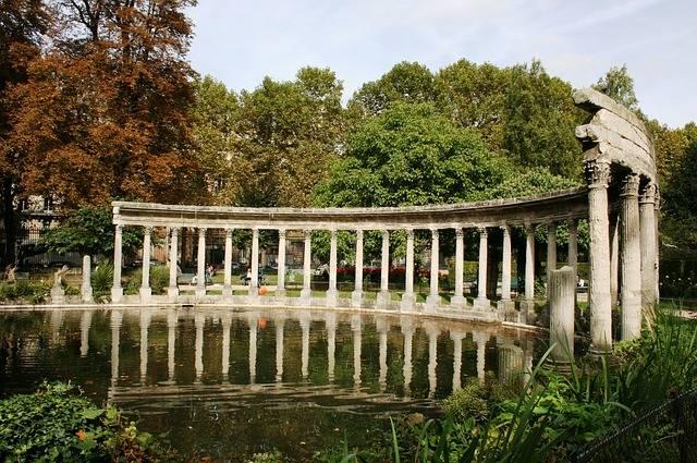 Parco Monceau parigi