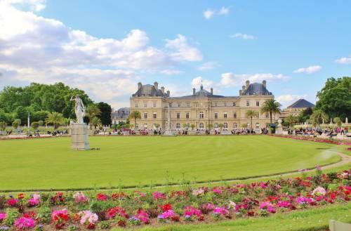 Jardín de Luxemburgo Paris